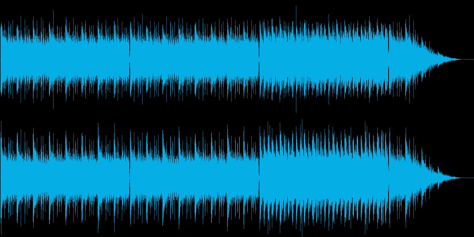 ノスタルジックで飽きないバロック風の再生済みの波形