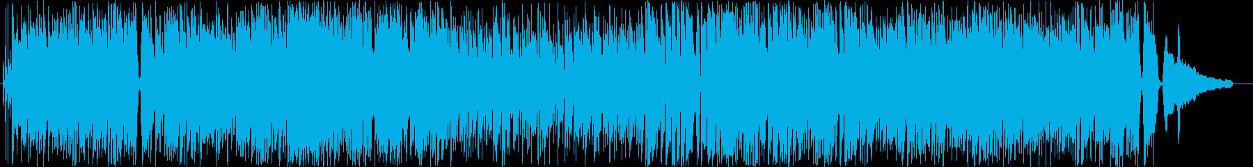 冬の街をイメージしたカワイイポップBGMの再生済みの波形