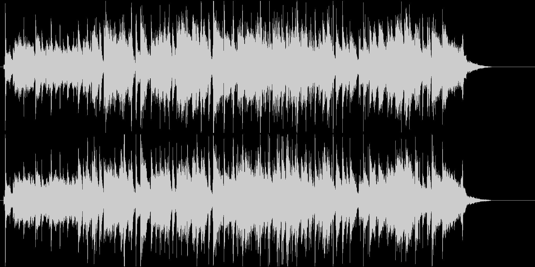 おしゃれなバーがイメージのしっとりジャズの未再生の波形