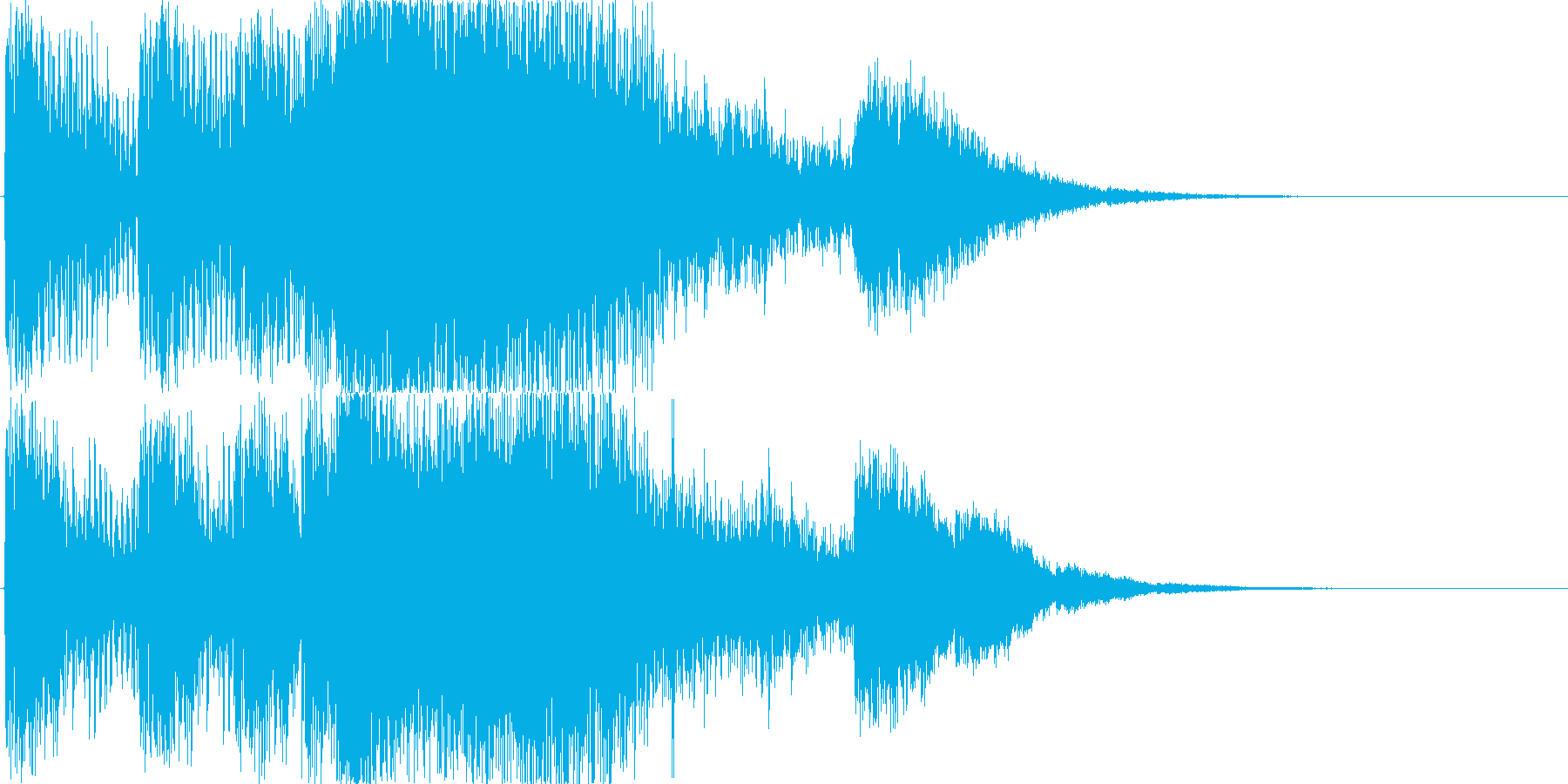 強_和風_おありのイメージの再生済みの波形