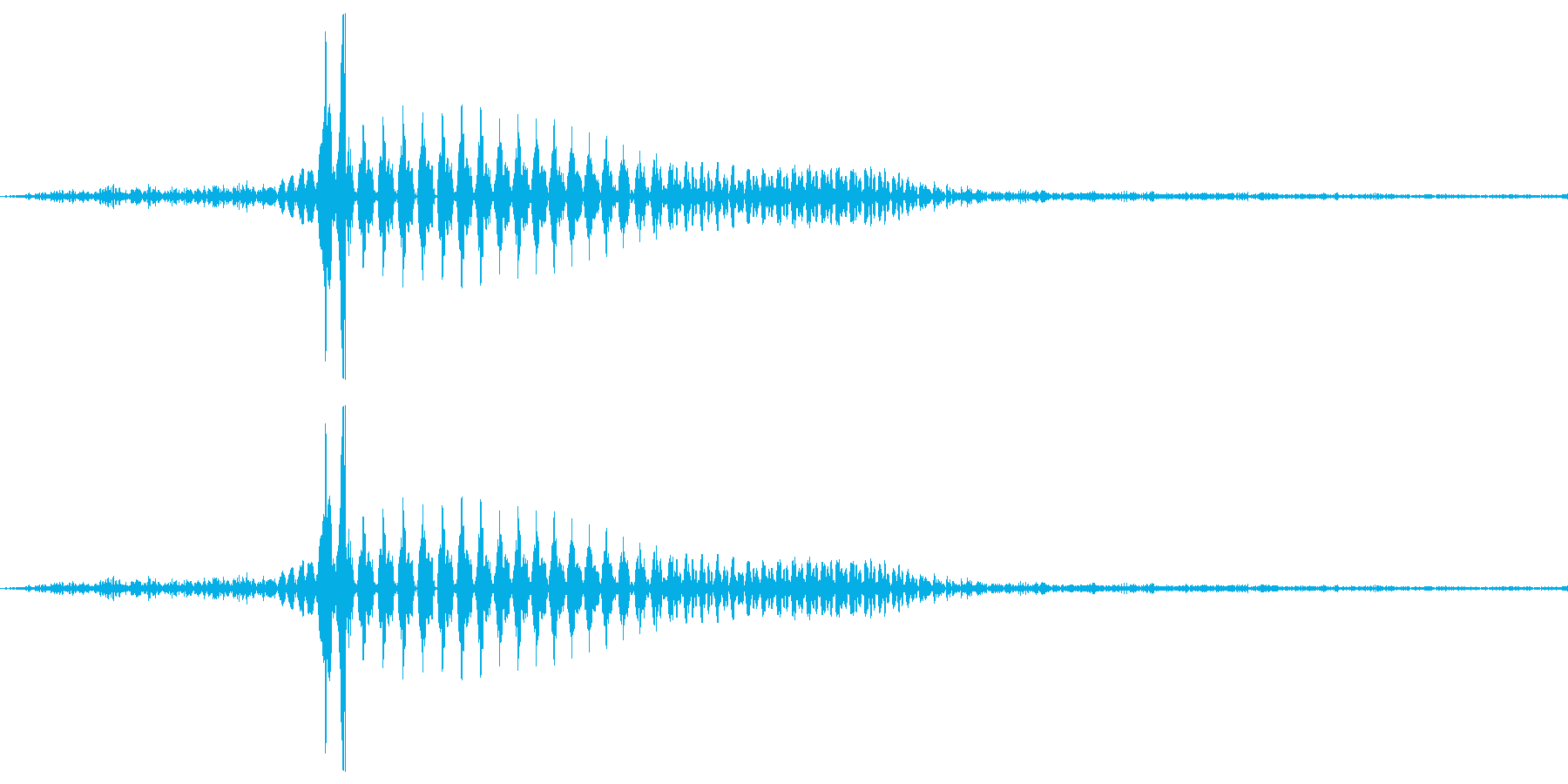 「は?」 尋ねる声 煽りとかに使えるかもの再生済みの波形