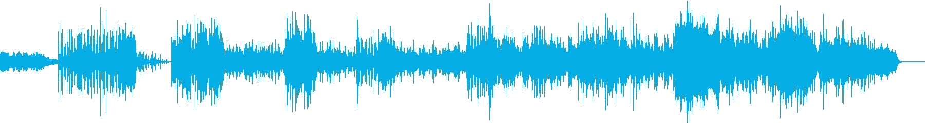 絵本のようなピアノとストリングスの再生済みの波形