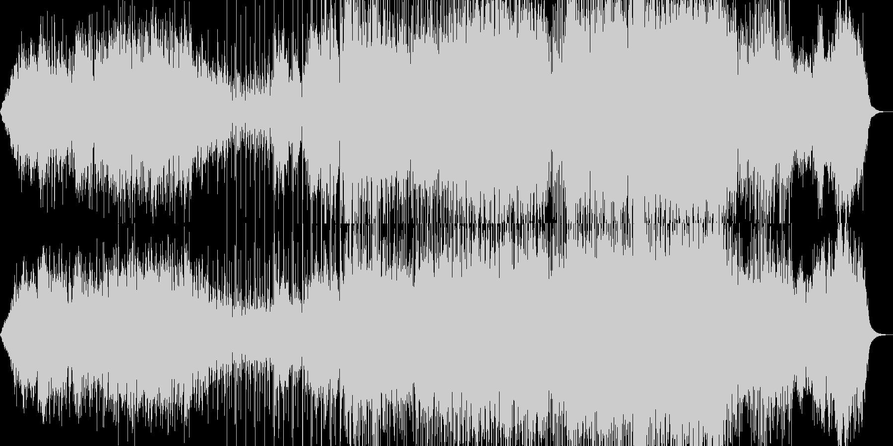 和風、もしくは中華風の曲の未再生の波形