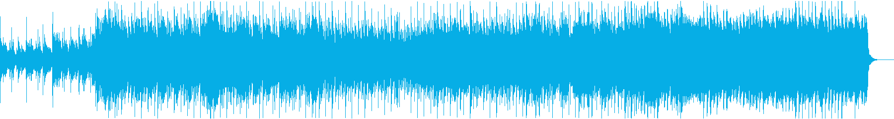 結婚式に適したピアノポップインストの再生済みの波形
