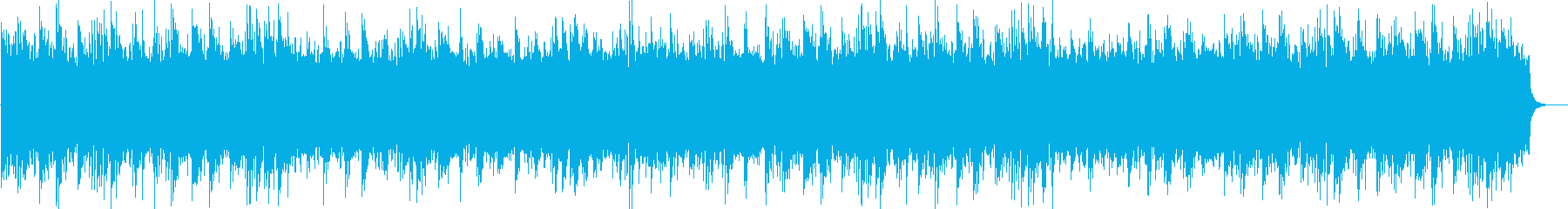 高原の自然映像に合うヒーリングBGMの再生済みの波形