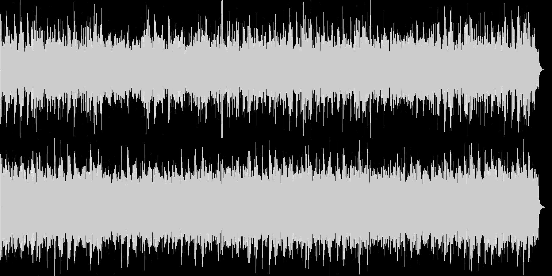 高原の自然映像に合うヒーリングBGMの未再生の波形