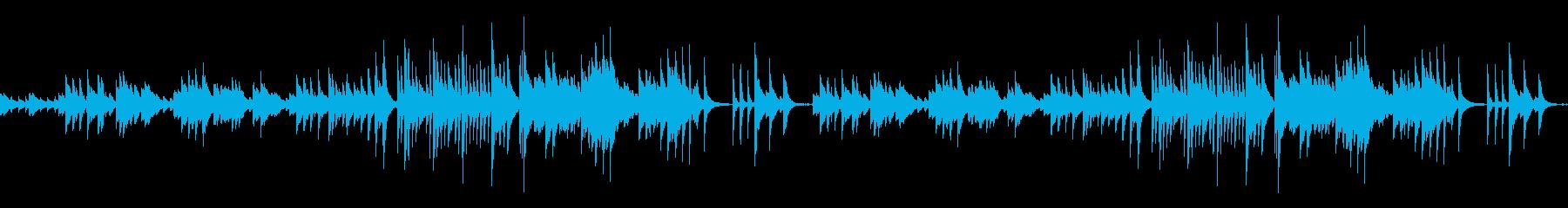 手紙をイメージした切ないピアノソロの再生済みの波形