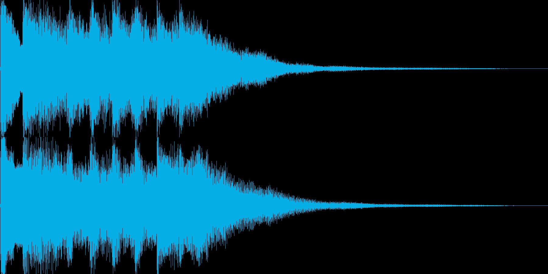 ゲームオーバー、セーブなど(中世風)の再生済みの波形