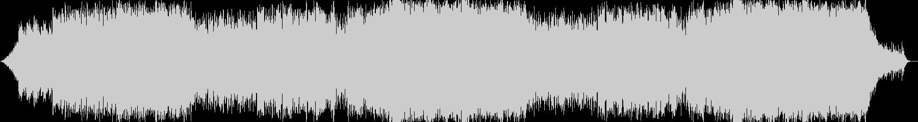 キラキラ系テクノポップの未再生の波形