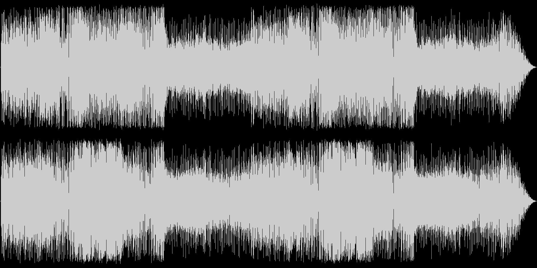 アコーディオンとチェロの港町らしい曲の未再生の波形