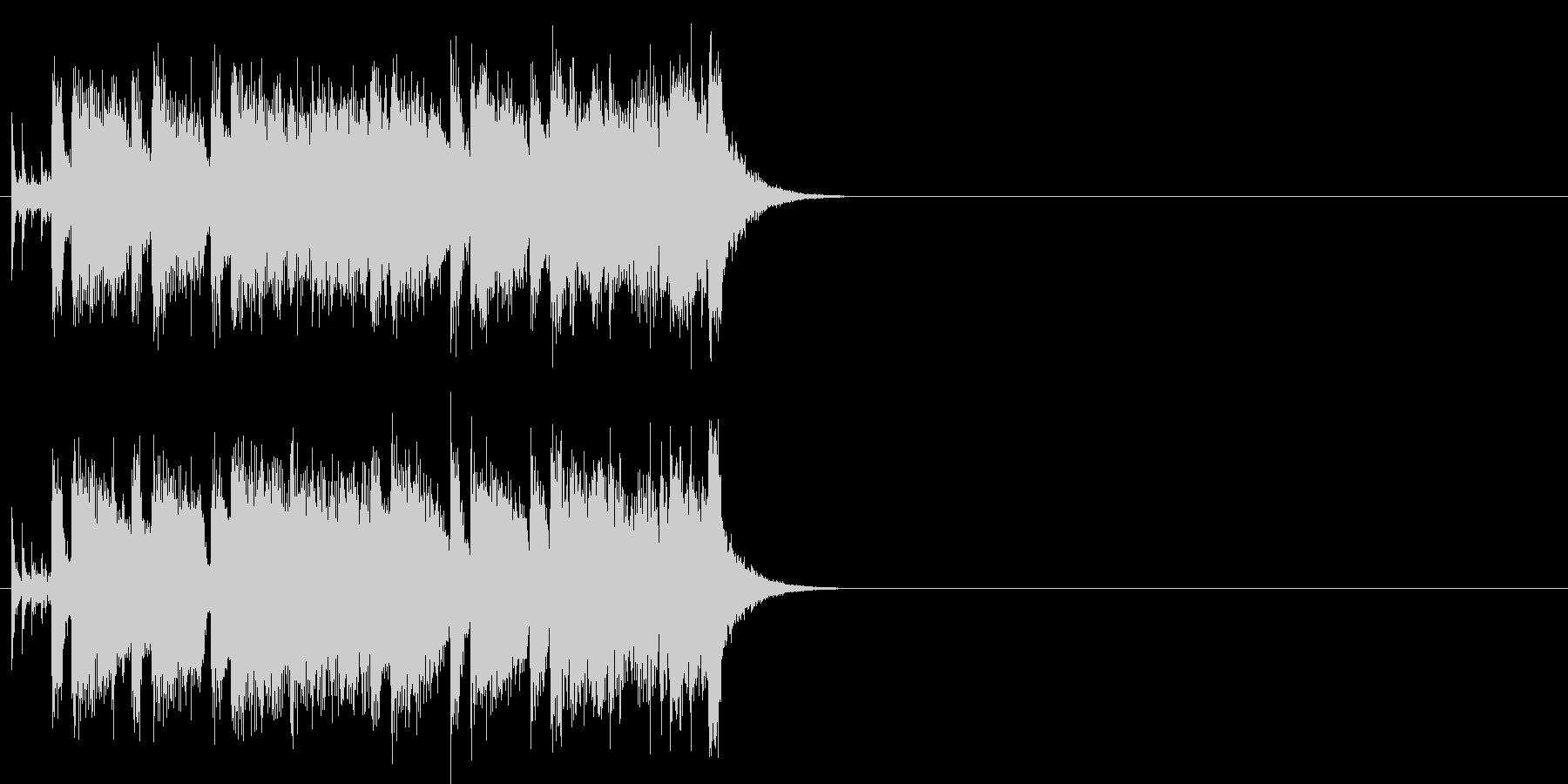 フュージョン/#1のジングル・バージョンの未再生の波形
