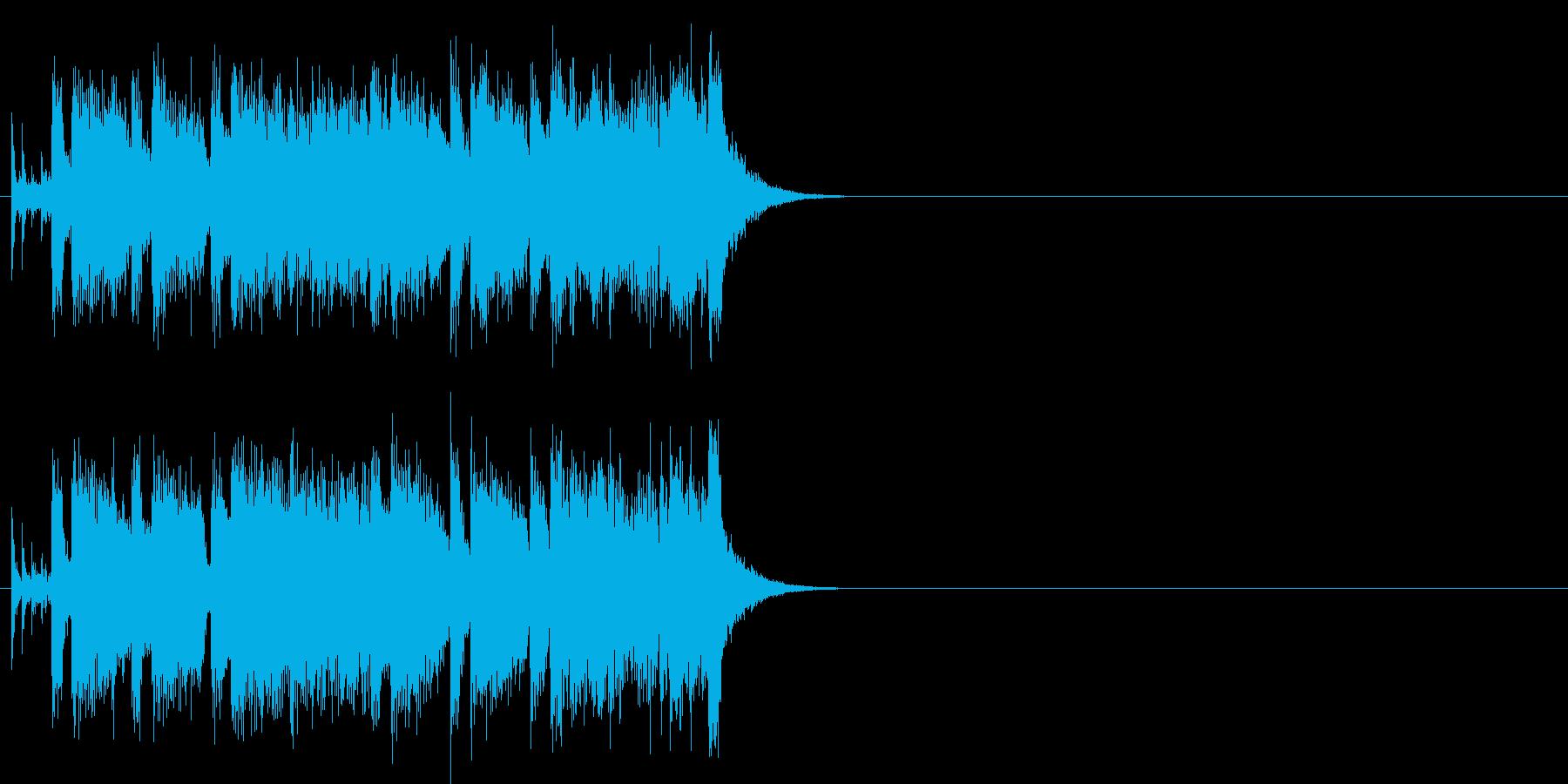 フュージョン/#1のジングル・バージョンの再生済みの波形