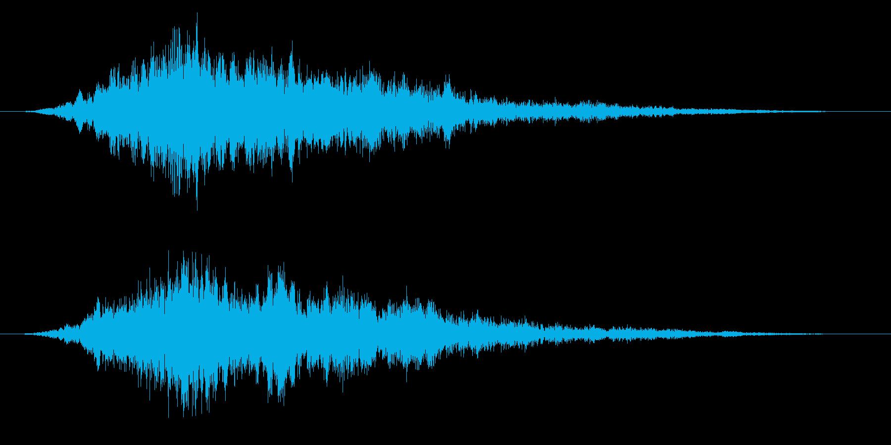 ホラー系/心霊現象/不気味の再生済みの波形
