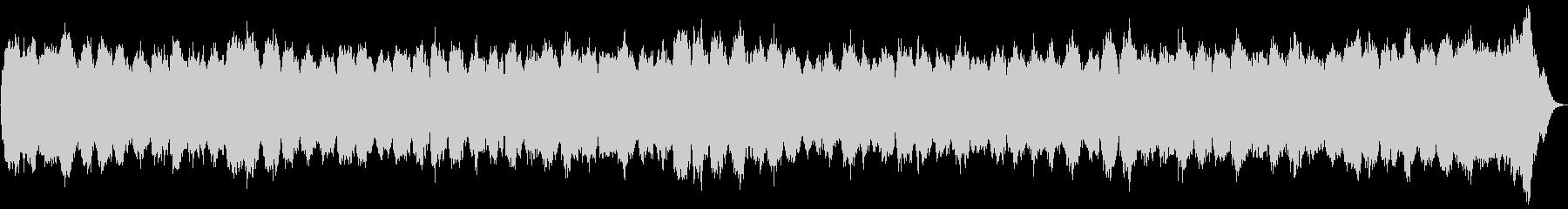 パイプオルガン用オリジナル四声の曲の未再生の波形