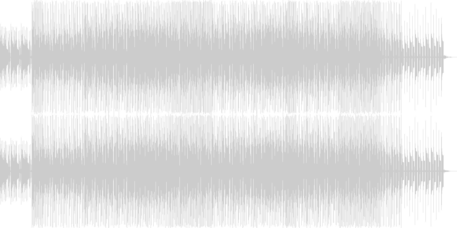 デジタル機器CF、ジングル、ロゴ用 の未再生の波形