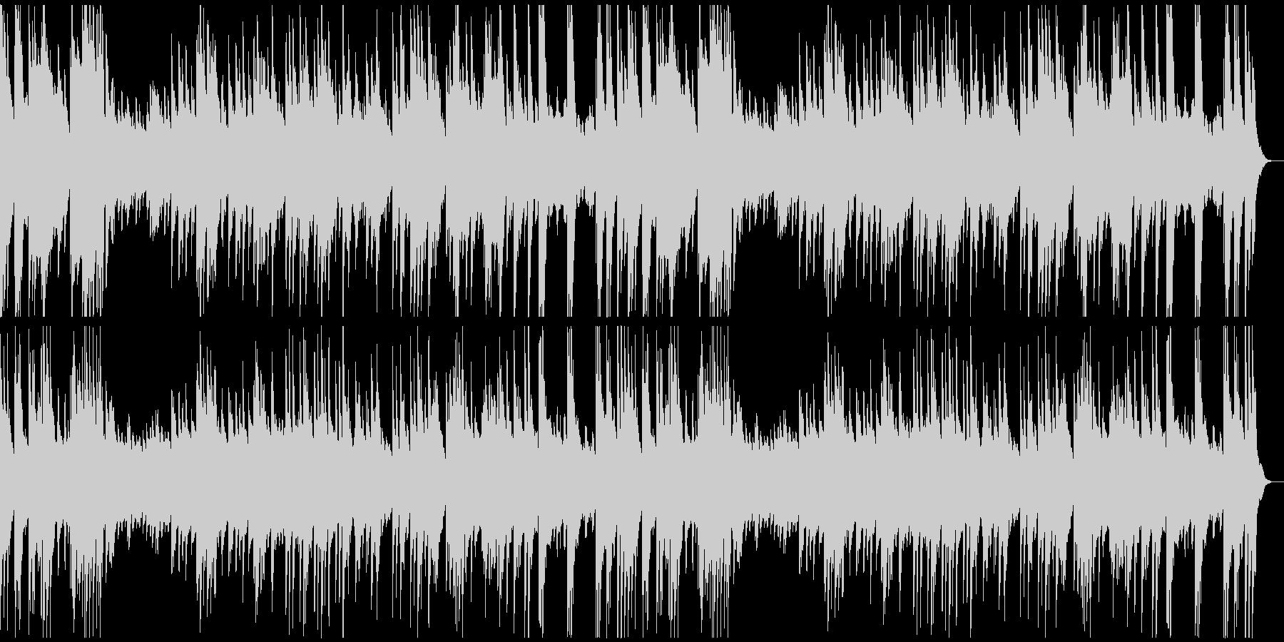 優しくてやわらかなソロ・ピアノ曲の未再生の波形