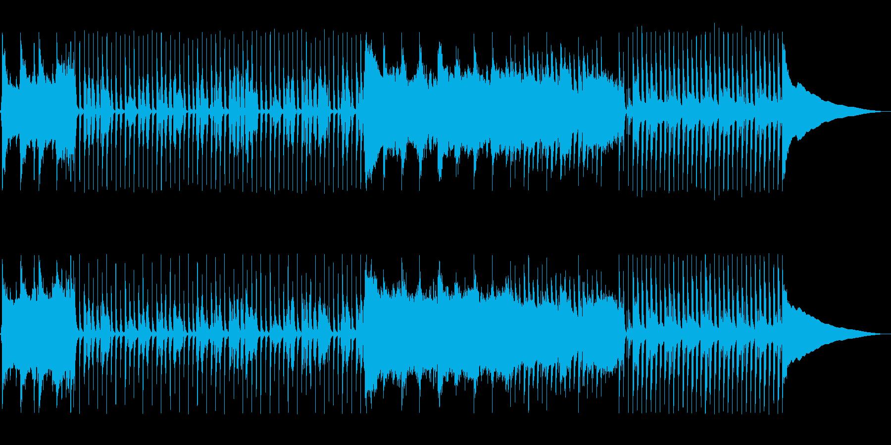 口笛と拍手がフレンドリーさを伝える楽曲の再生済みの波形