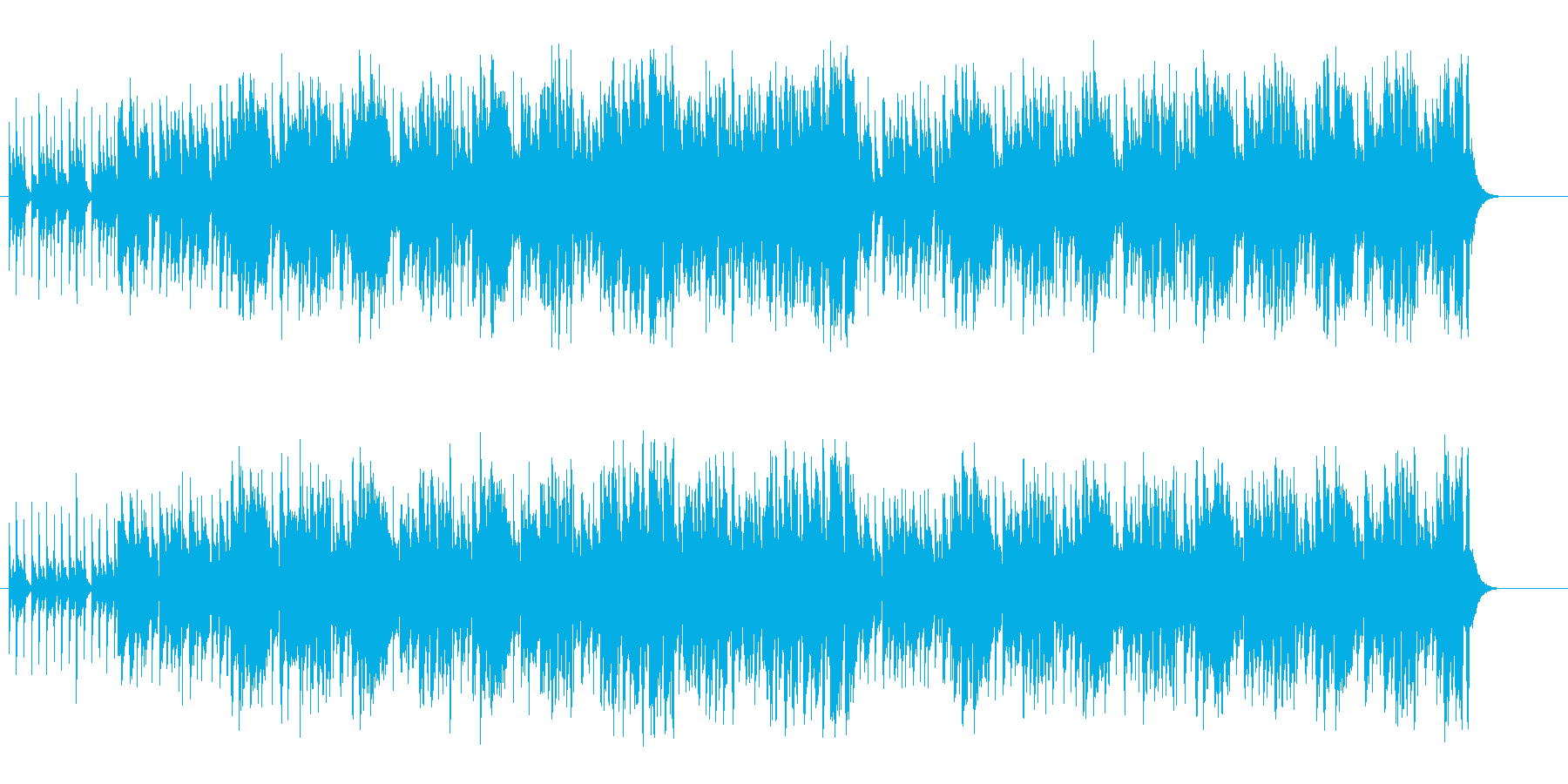 アメリカナイズされたファンキーなポップスの再生済みの波形