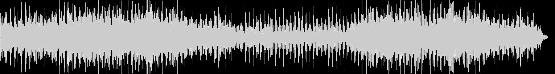 北欧系の壮大な五拍子ジャズ(ソロなし版)の未再生の波形