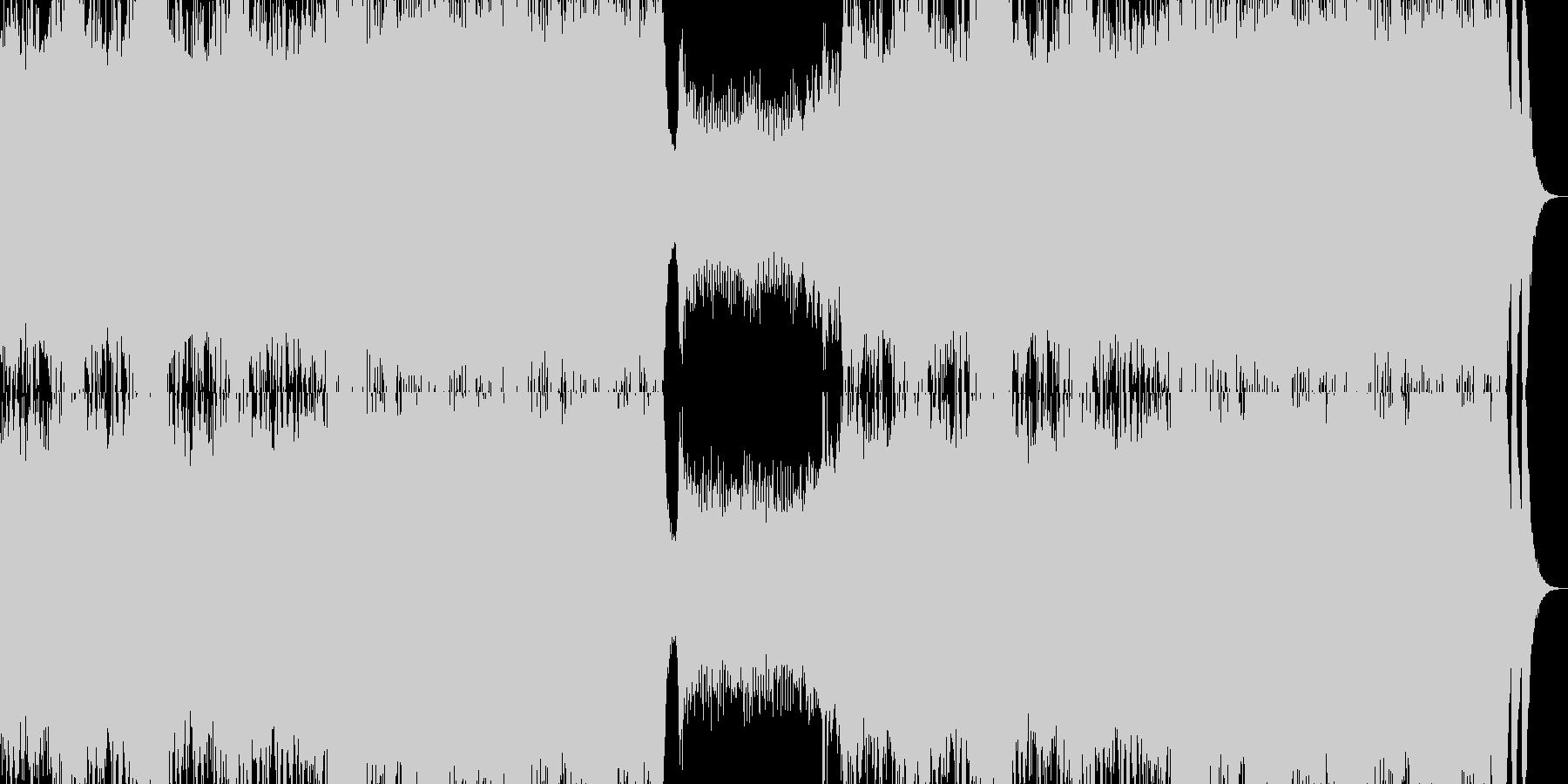 オーケストラ クワイヤー 疾走感の未再生の波形
