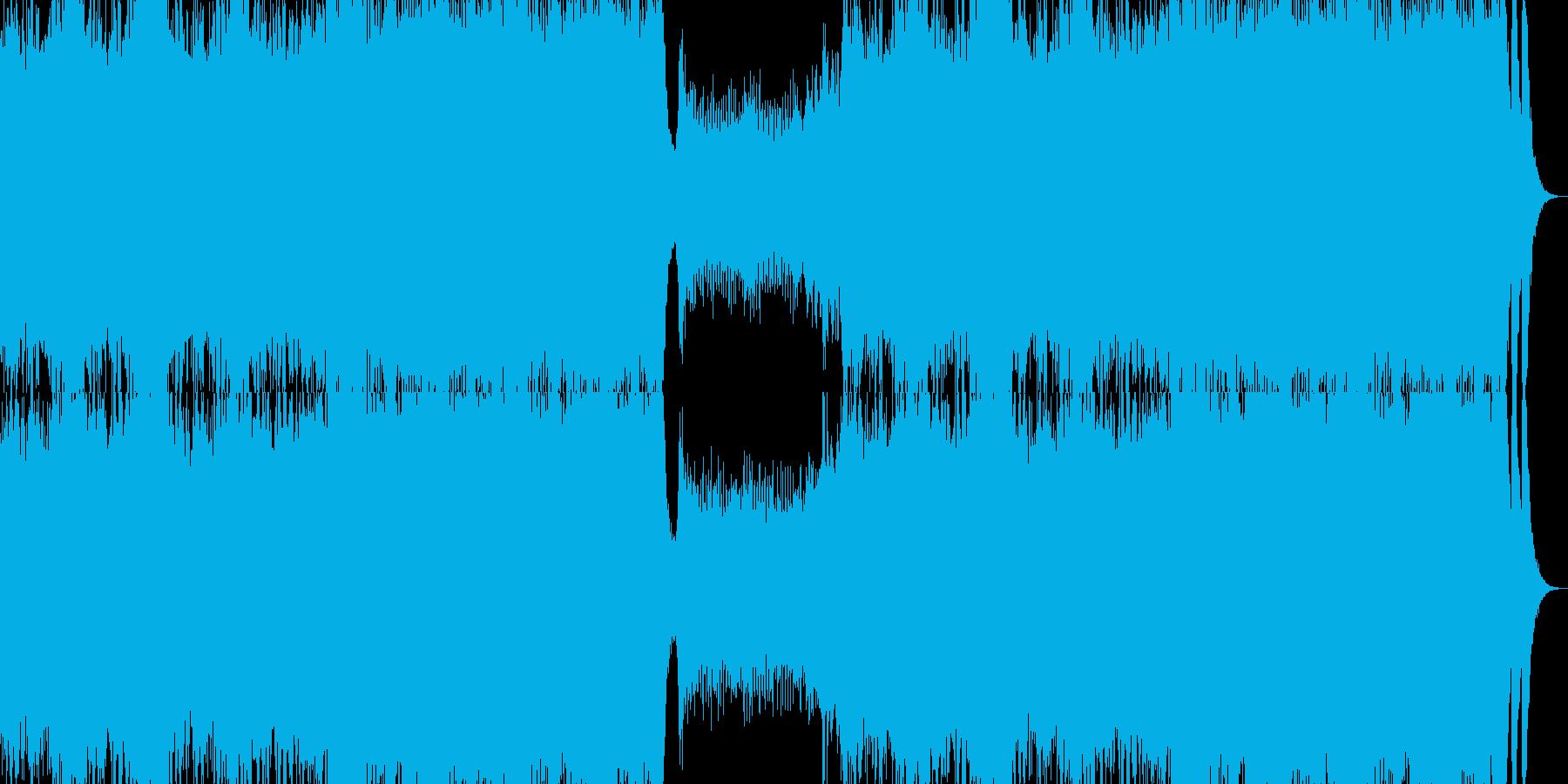 オーケストラ クワイヤー 疾走感の再生済みの波形