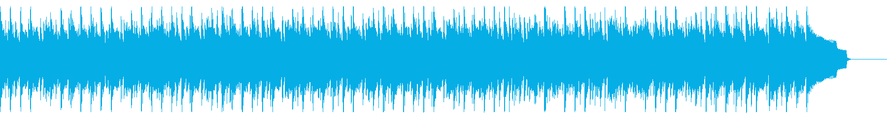 シンプルで軽快な木琴とアコギのジャズの再生済みの波形