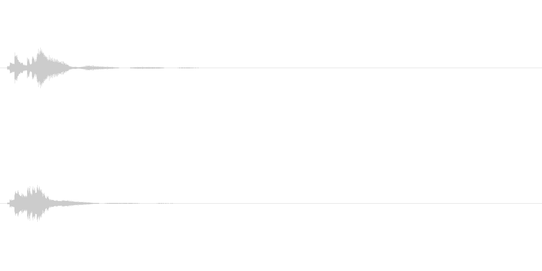 キラキラ系_022の未再生の波形