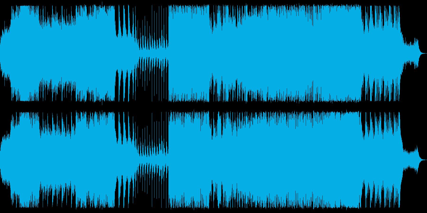 朝をイメージしたさわやかなポストロックの再生済みの波形