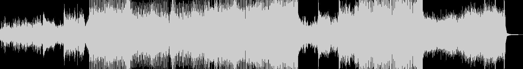 おとぎ話テイストなメルヘンテクノの未再生の波形