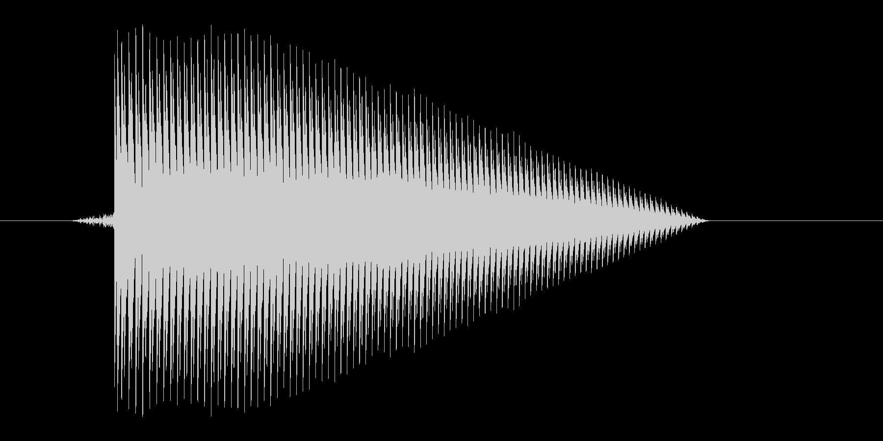 ゲーム(ファミコン風)ジャンプ音_041の未再生の波形
