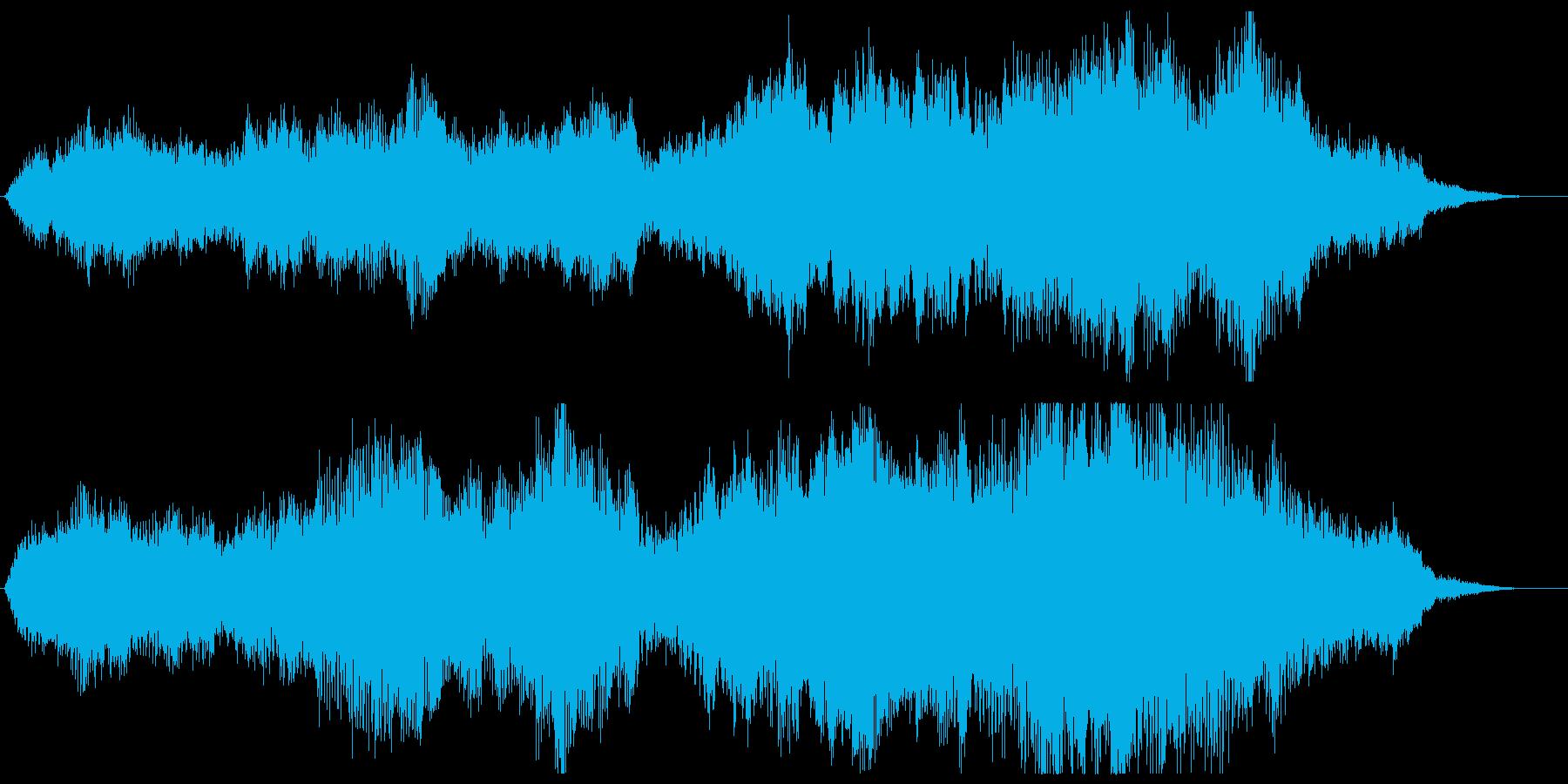 幻想的な哀愁のストリングス系ジングルの再生済みの波形