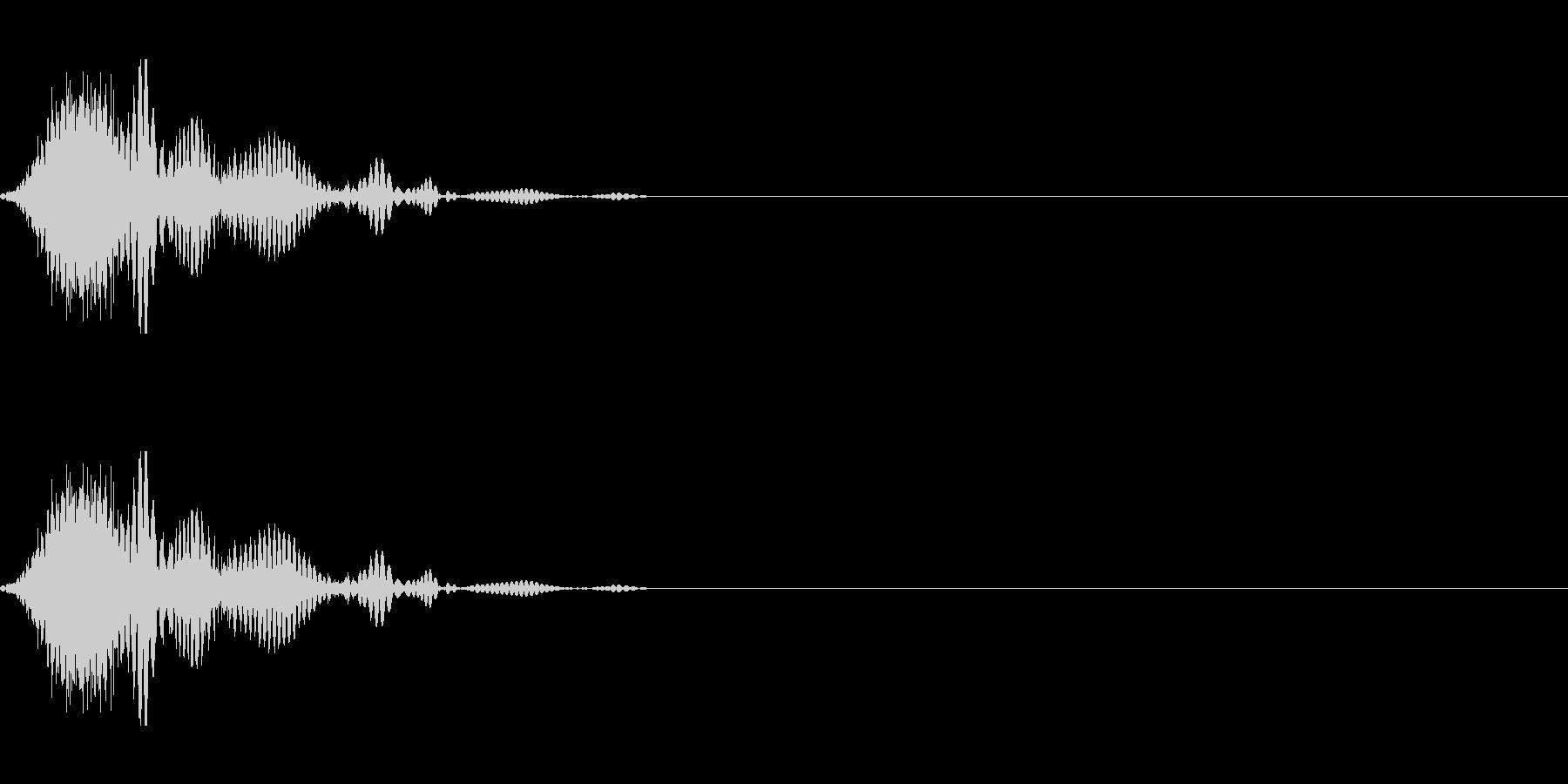 斬撃音(刀や剣で斬る/刺す効果音)17bの未再生の波形