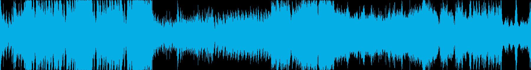 バトル系オーケストラループ曲です。の再生済みの波形