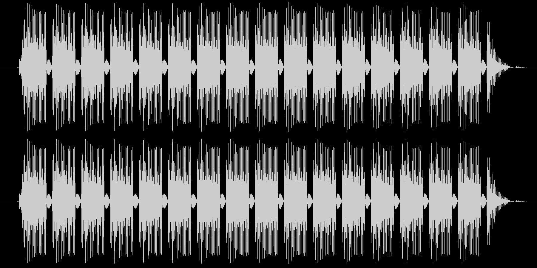 プルルルル・・・という電話の音ですの未再生の波形