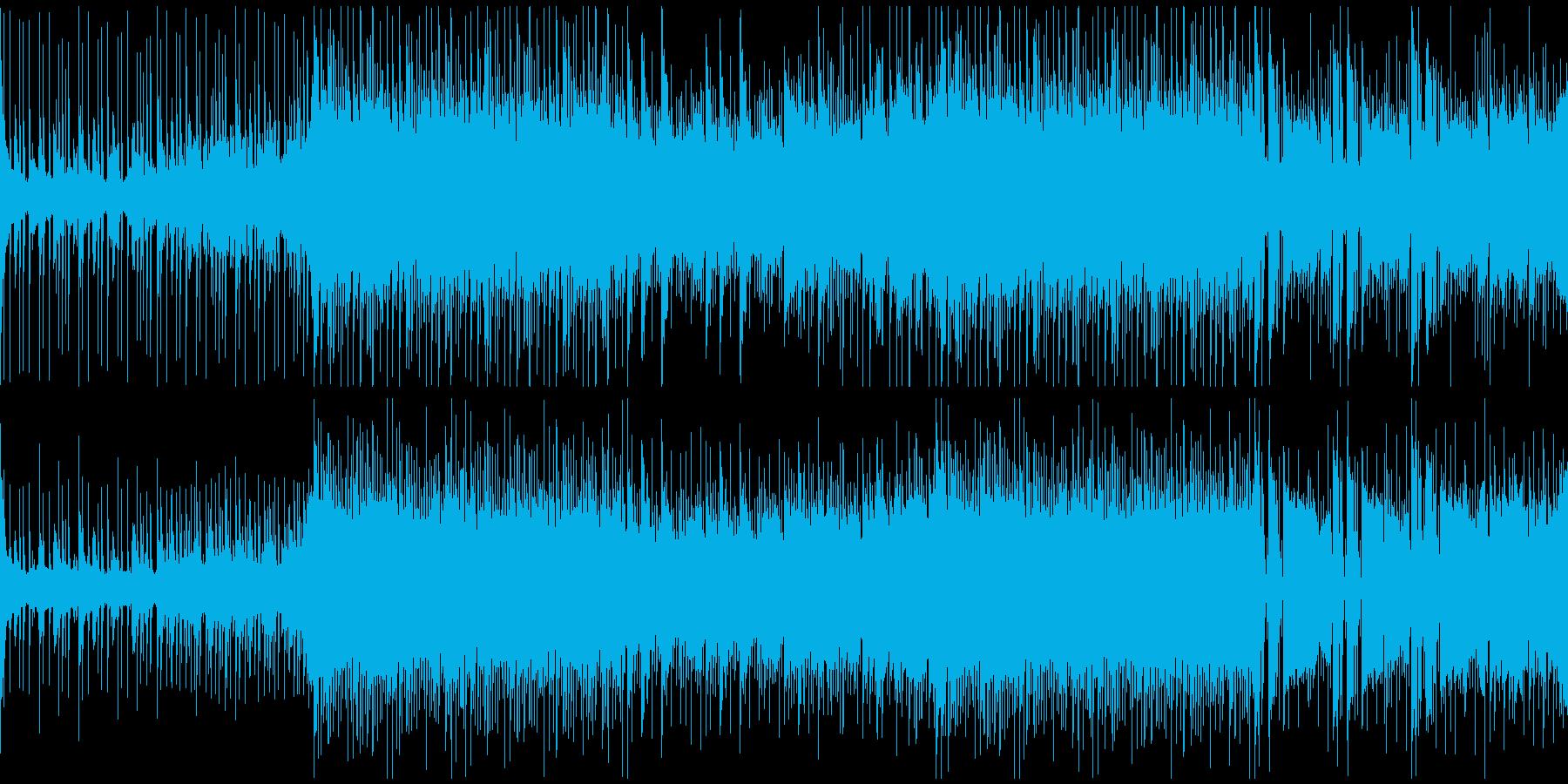 爽やかで前向き、ちょっと知的なBGMの再生済みの波形