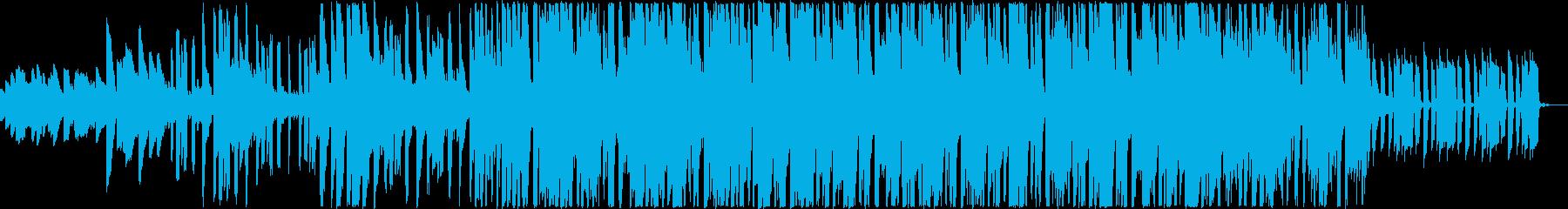 何かが突然かみ合うようなジングルの再生済みの波形
