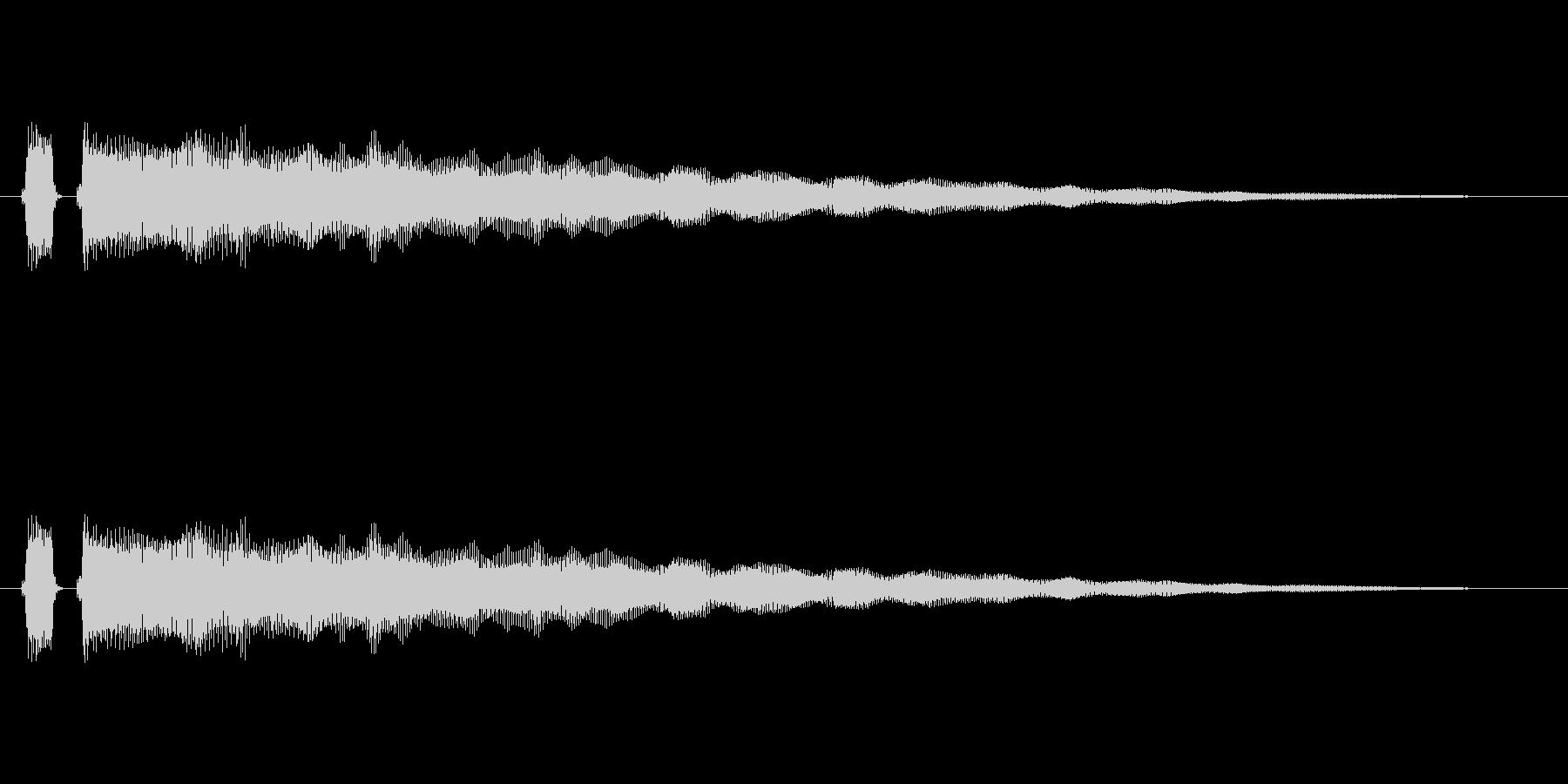 【フレーズ05-1】の未再生の波形