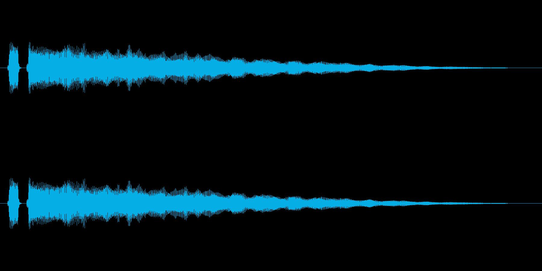 【フレーズ05-1】の再生済みの波形