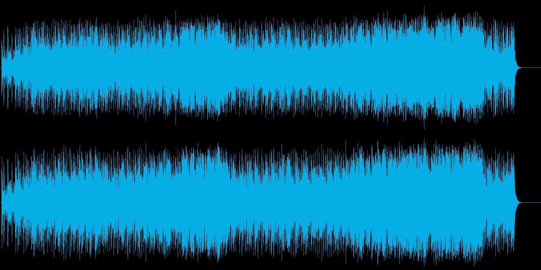 トキメキを感じる明快なポップスの再生済みの波形