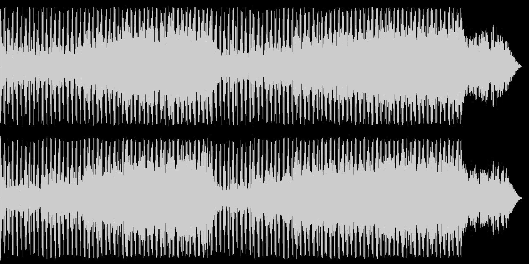 メローでリズミカルなテクノポップサウンドの未再生の波形