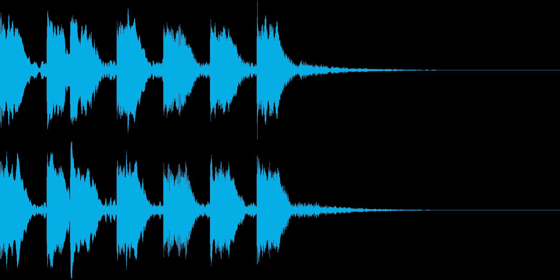 レベルアップ アイテム ヒット 4の再生済みの波形