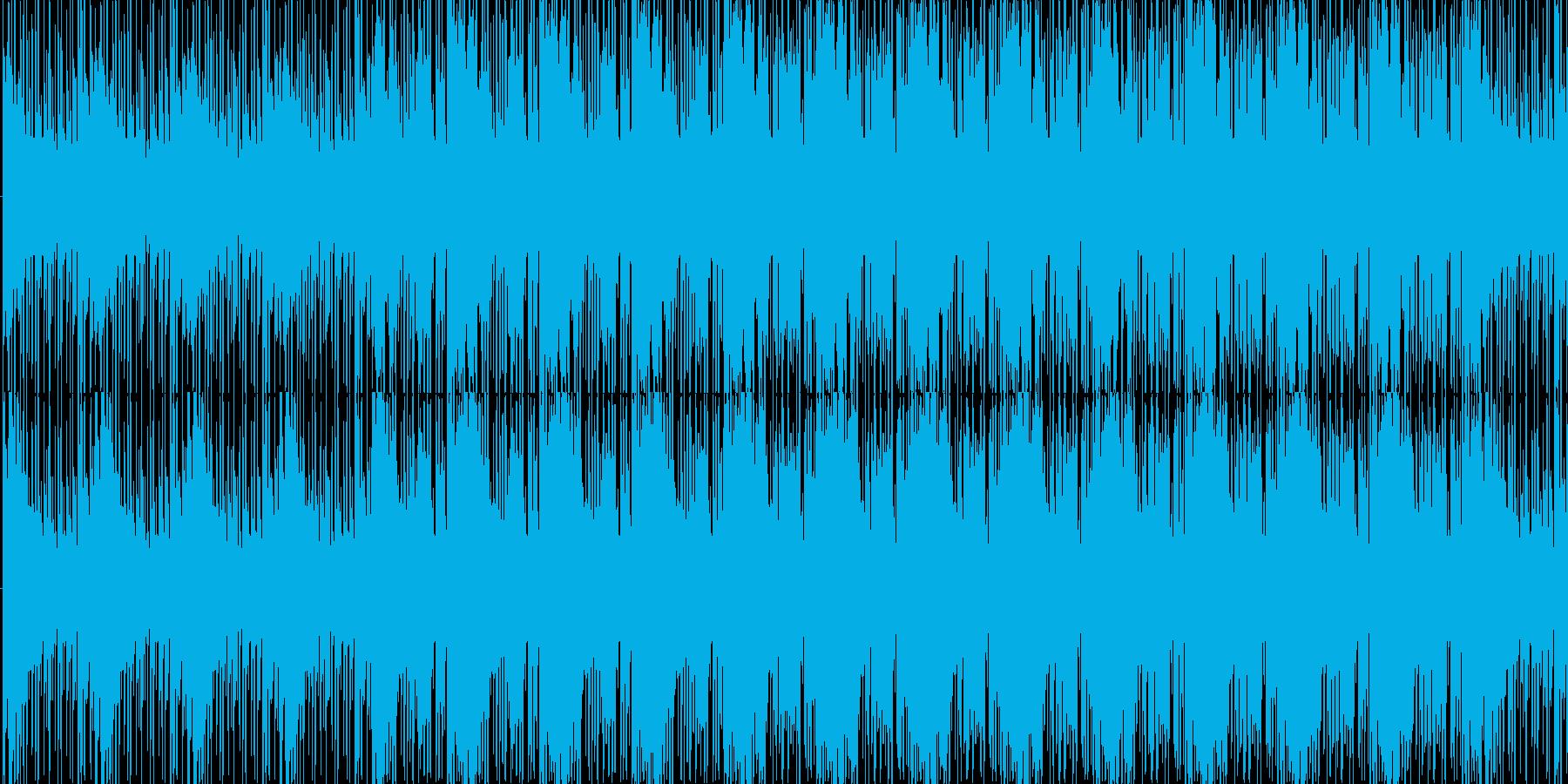 ジャジーで大人の雰囲気BGMの再生済みの波形