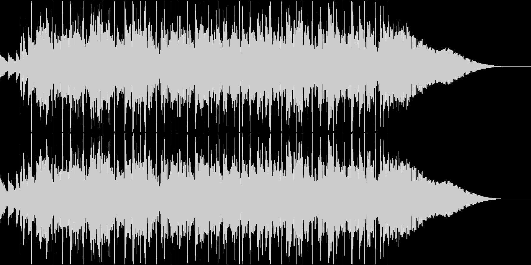 古典的で軽快なロックンロールの未再生の波形