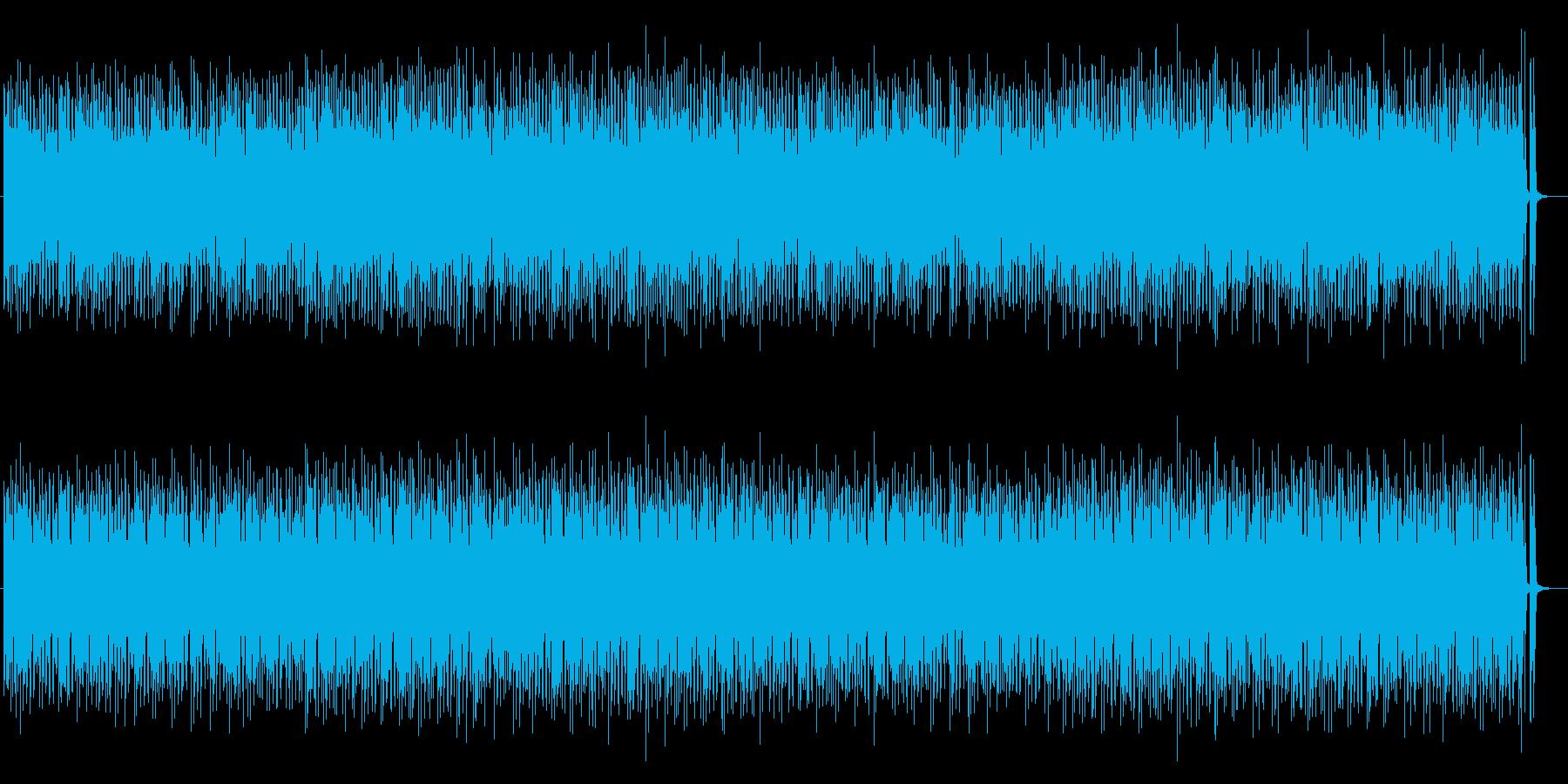 未来的なラテンミュージックの再生済みの波形