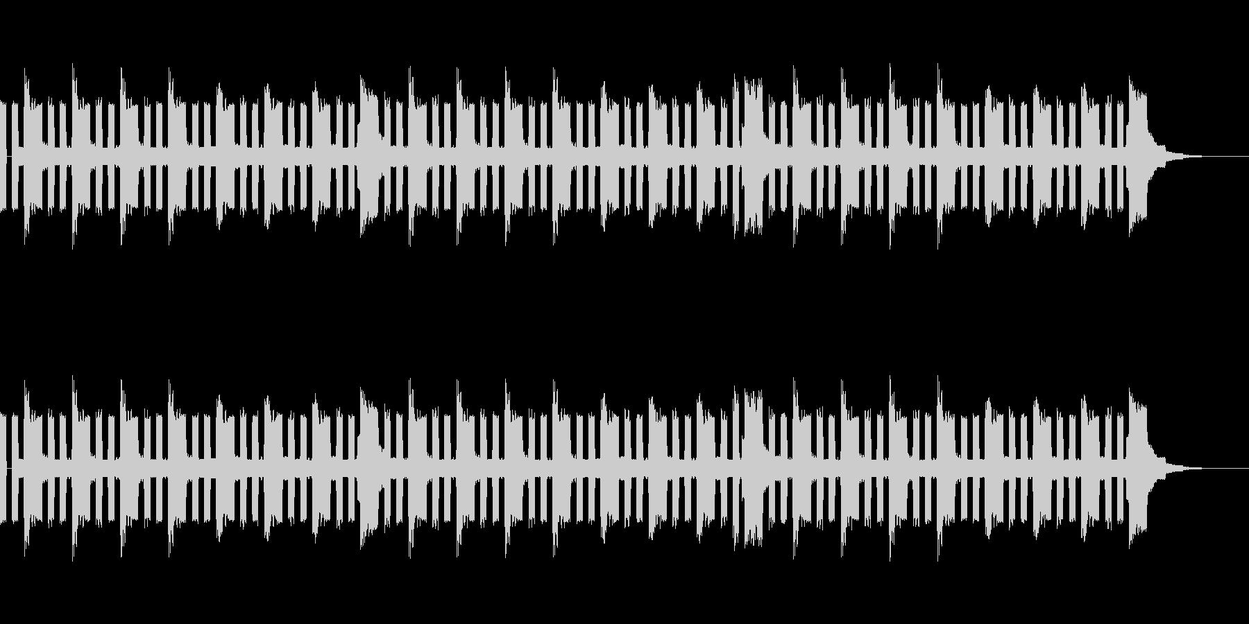 チップチューン風ループ(エコー付き)の未再生の波形