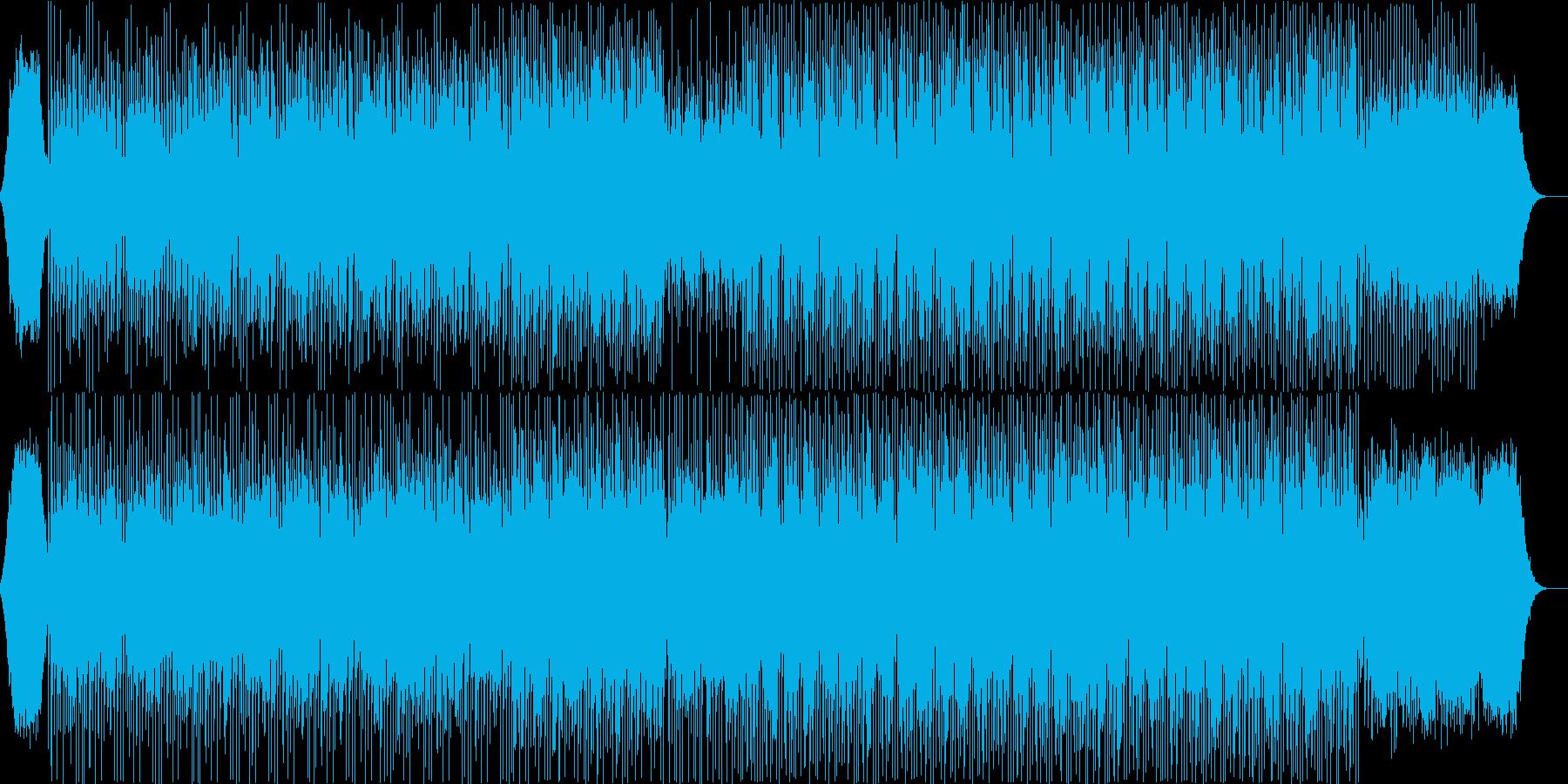 SFチックでキラキラしたテクノの再生済みの波形