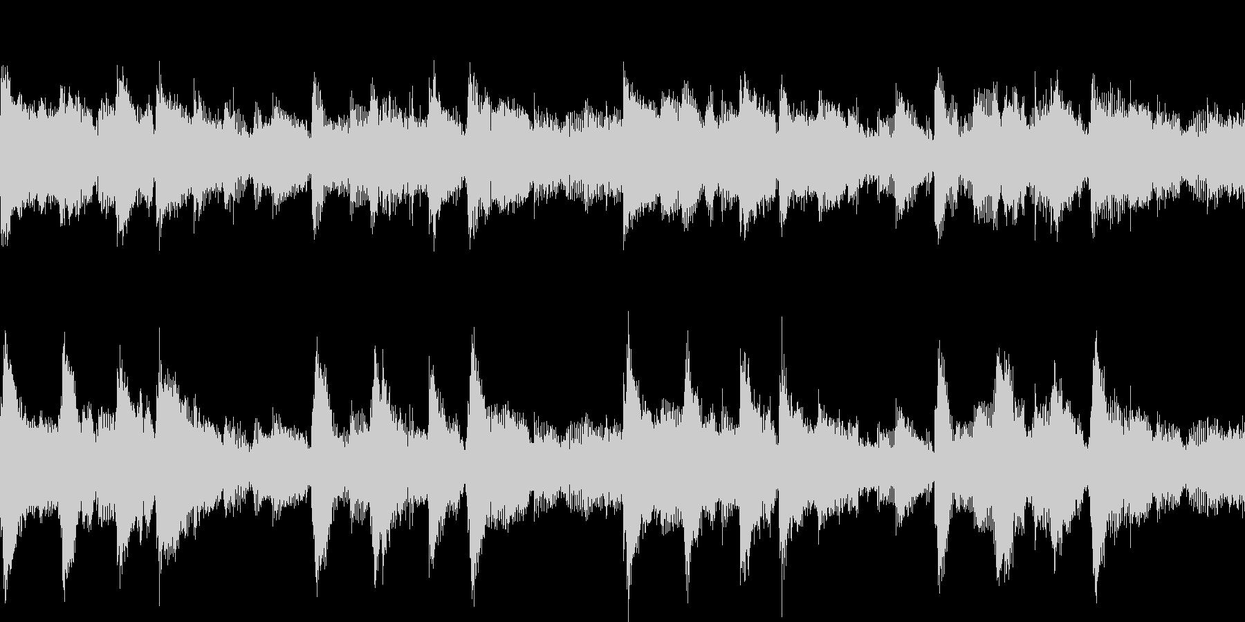 ピアノとアコギのBGM Loop可の未再生の波形