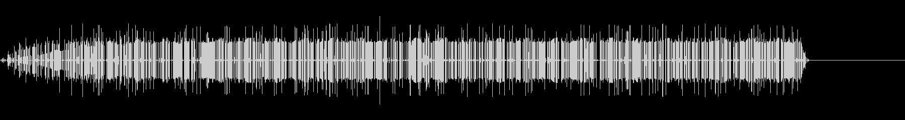シンプルなノイズの音の未再生の波形