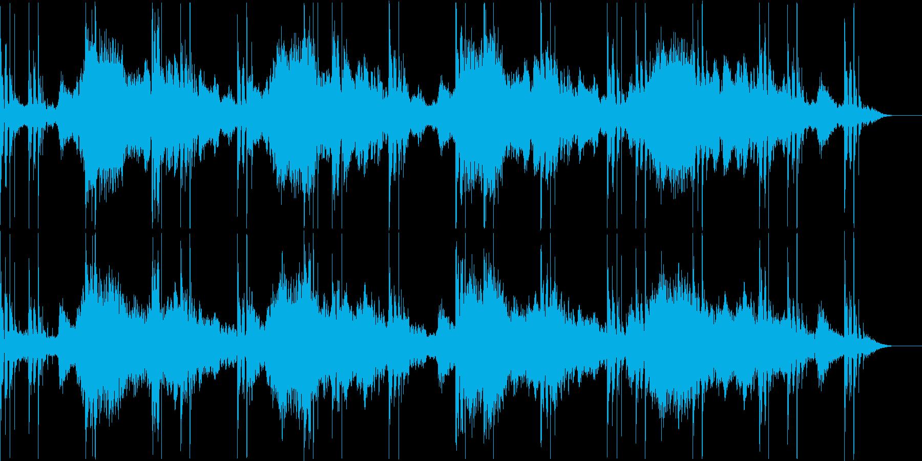 浮遊の再生済みの波形