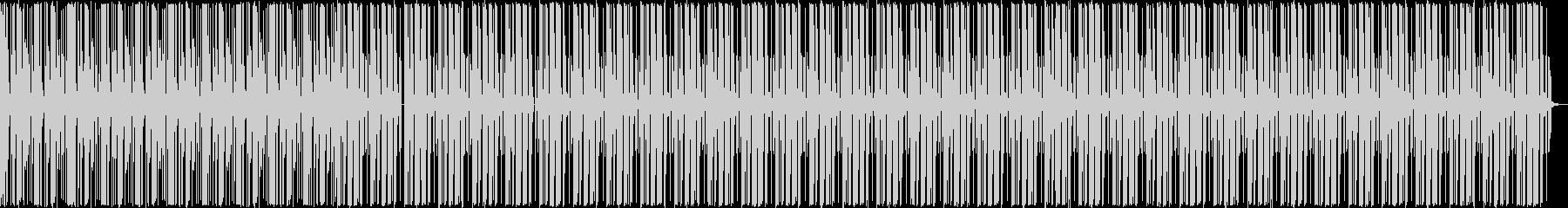 【ピアノ抜き】ピアノとドラム主体のテクノの未再生の波形